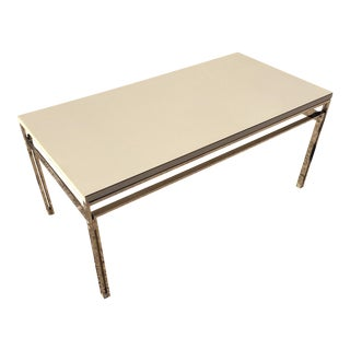 Ernst Ries and Sohn Mid Century Chrome Coffee Table