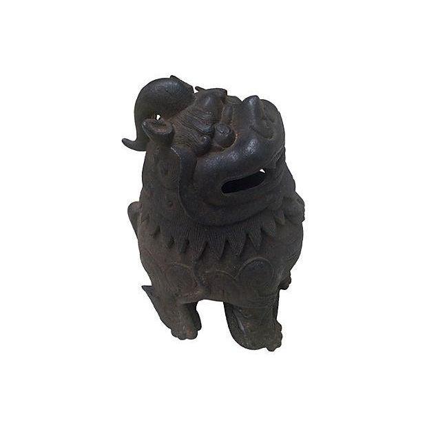 Image of Gargoyle Lion Incense Burner