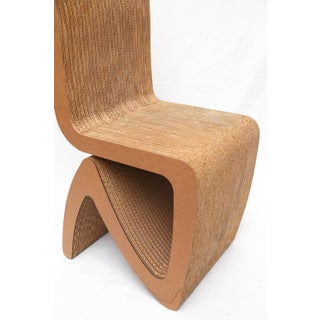 Frank Gehry Cardboard Chairs - A Pair