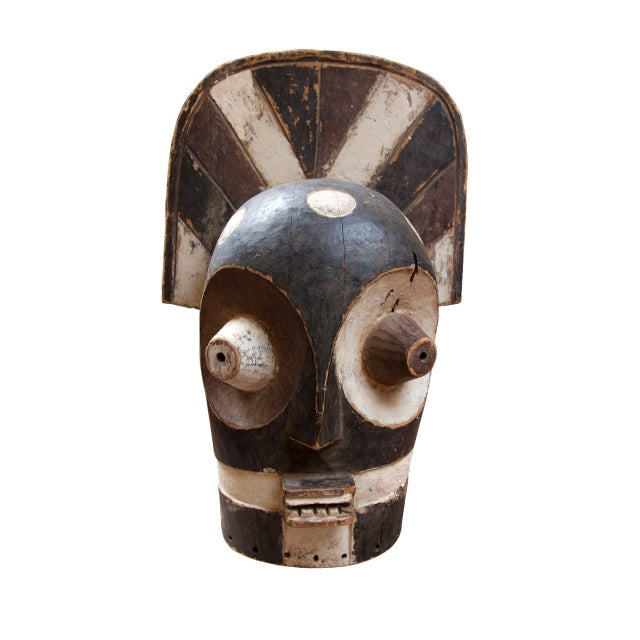 Image of Hand Crafted African Mask