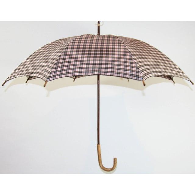Image of Vintage Mens Glenn Plaid Umbrella