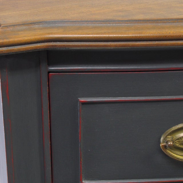 Vintage Painted Mahogany Server - Image 5 of 8
