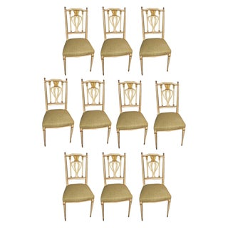 Maison Jansen Dining Chairs - Set of 10