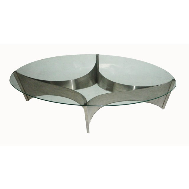 """Maison Charles """"Voiles"""" Coffee Table - Image 4 of 5"""
