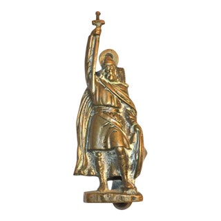 'Alfred the Great' Brass Door Knocker