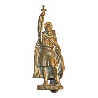 'Alfred the Great' Brass Door Knocker