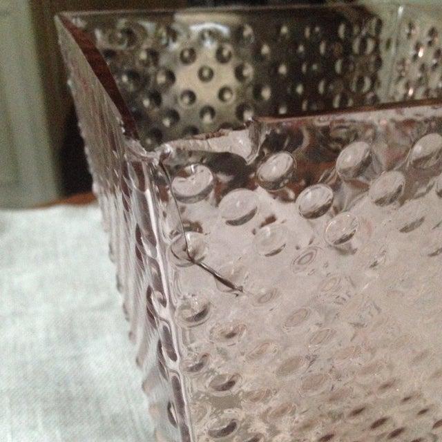 Vintage Pink Glass Hobnail Vase - Image 5 of 11