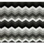 Image of Black & Gray Chevron Outdoor Pillows - Set of 4