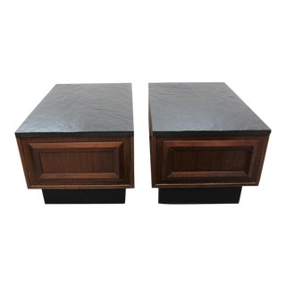 Mid Century Modern Adrian Pearsall end tables