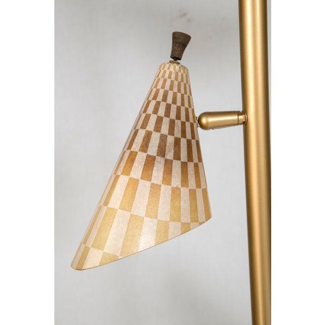 Retro Pole Multihead Floor Lamp - Image 5 of 11