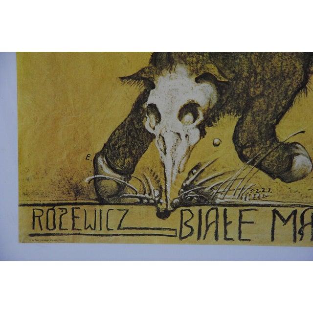 Biale Malzenstwo Rozewicz, Polish Theater Poster - Image 2 of 7