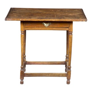 Diminutive Pine & Butternut Tavern Table