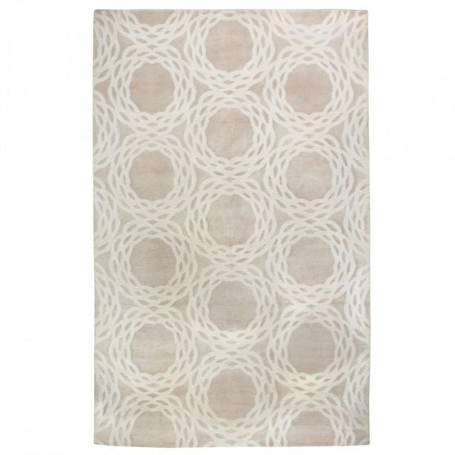 "Cococozy Tan ""Oxford"" Wool Rug - 8' x 11' - Image 9 of 9"