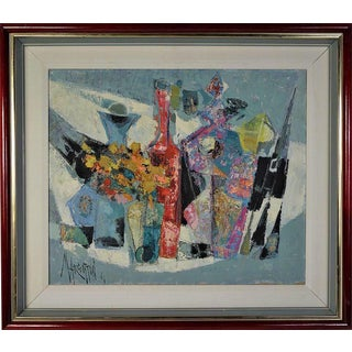 Rene Margotton Mid-Century Expressionist French Oil Painting