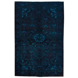 "Apadana Vintage Persian Overdyed Rug -- 5'2"" x 7'9"""