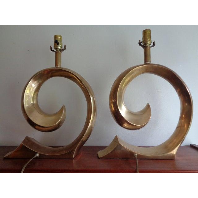Image of Pierre Cardin Signature Lamps - Pair