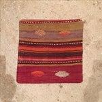 Image of Vintage Striped Kilim Pillow