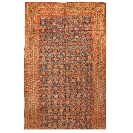 Image of Exceptional Mid 19th Century Persian Souj Boulak Gallery Carpet