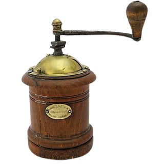 Antique French Alsace Coffee Grinder