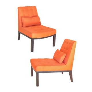 Pair of Wormley Slipper Chairs