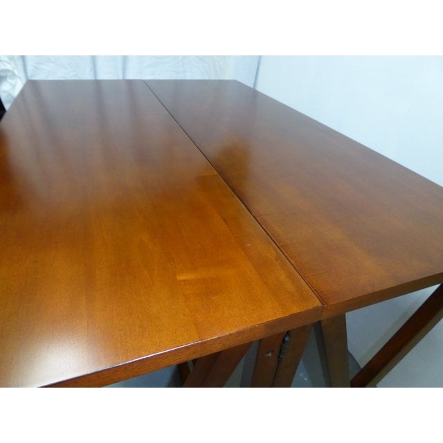 Image of Solid Wood Folding Bar Dining Table