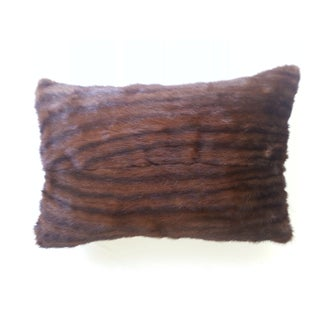 Brown Mink Lumbar Pillow
