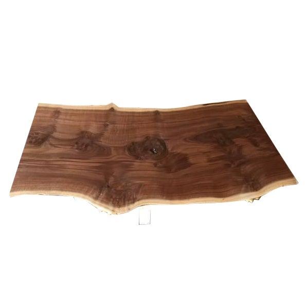 Salvaged Redwood Slab Coffee Table Chairish