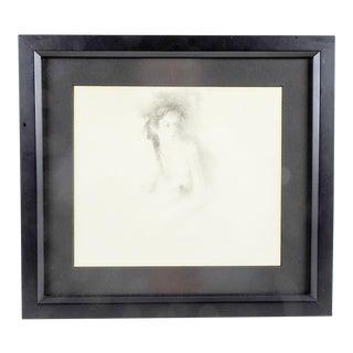 Nude Pencil Portrait