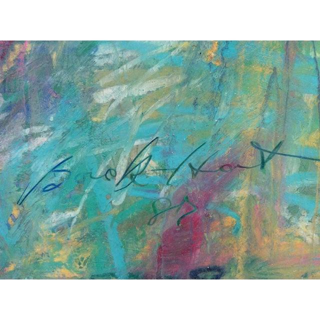 Barbara Borck-Hart Oil Pastel - Untitled #1 - Image 3 of 4