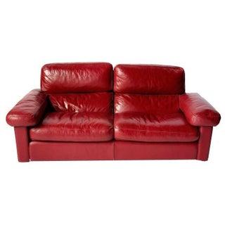 Poltrona Frau Leather Sofa