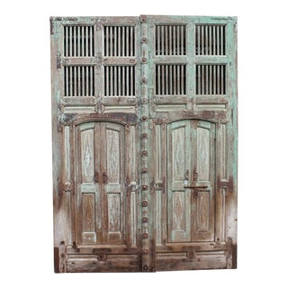 Large Antique Indian Door