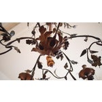Image of Italian 18th Century Painted Iron Chandelier