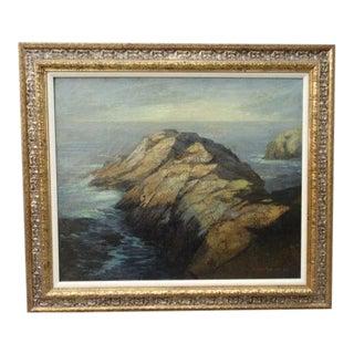 DeWitt Parshall Point Lobos Oil on Canvas