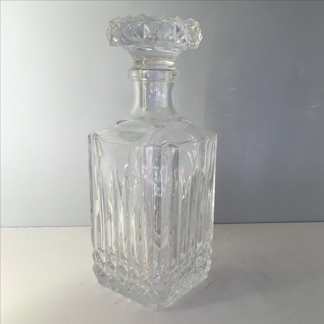 Diamond Glass Decanters - Image 8 of 8