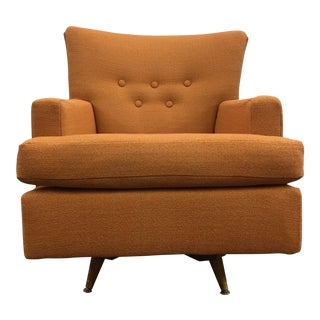 Mid Century Swivel & Rocking Club Chair