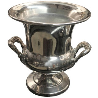 Antique 20th C. Towle Silver Plated Urn Ice Bucket