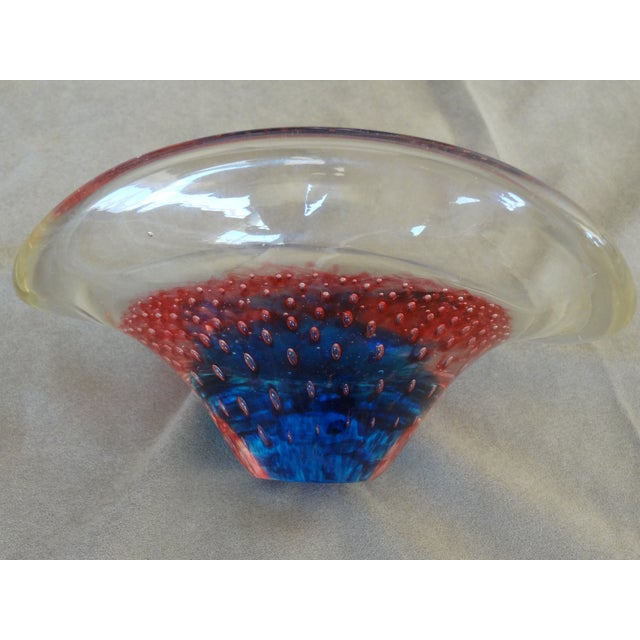 Murano Glass Bubble Candy Dish - Image 2 of 8