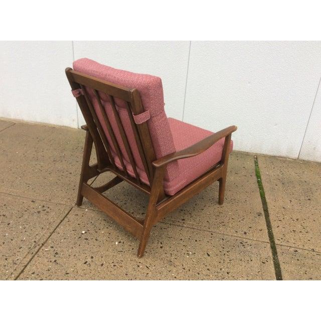 1960s Danish Modern Rocking Lounge Chair - Image 5 of 8