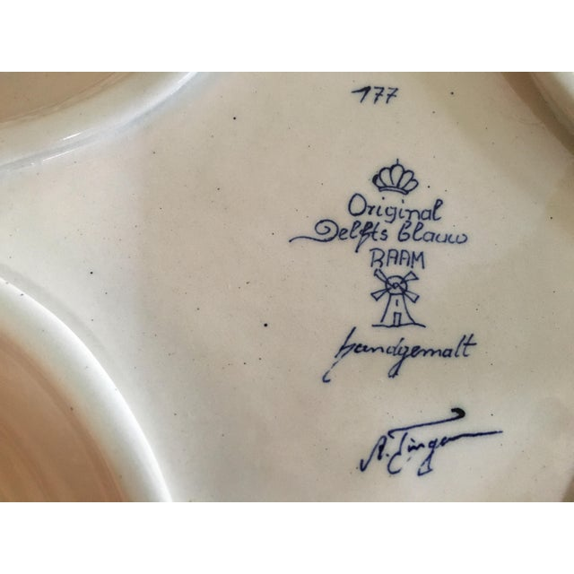 Image of Delft Diamond Shaped Bowl