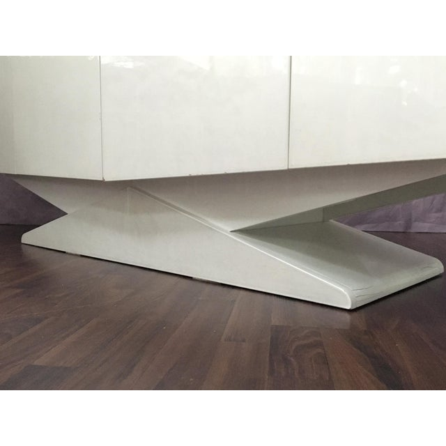 Modern Ello Inspired Art Deco Modern Lacquer Credenza - Image 6 of 10