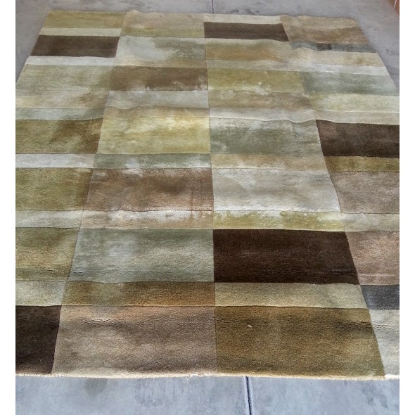 Image of Hand Tufted Wool Rug - 8' X 10'
