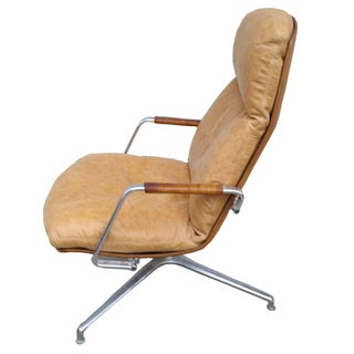 Preben Fabricius and Jorgen Kastholm Swivel Chair