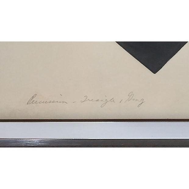 S. Green Mid-Century Modern Artist Proof Serigraph - Image 5 of 7