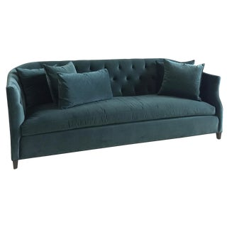Cisco Brothers Luccia Sofa in Emerald Velvet