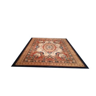"""9'8"""" X 13 French Aubusson Woven Fine Wool Rug - Size Cat. 10x14 10x13"""