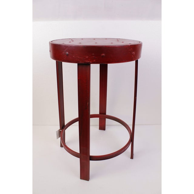 French Bistro Stools - A Pair - Image 3 of 7