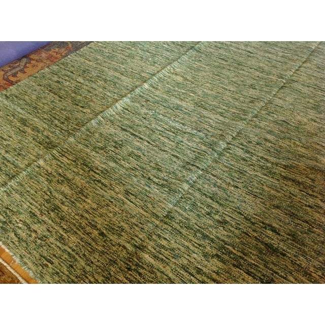 Sari Silk Flatweave Rug - 9′ × 12′ - Image 3 of 5