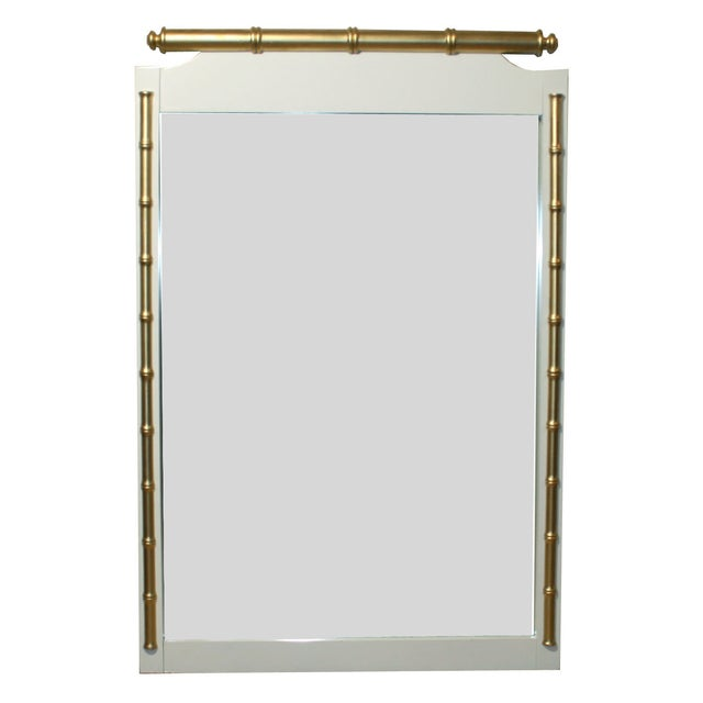 Regency-Style Faux-Bamboo Mirror - Image 1 of 4