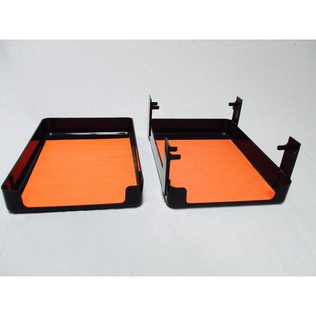 Mcdonald Design Plastic Desk Tray Letter Box Chairish