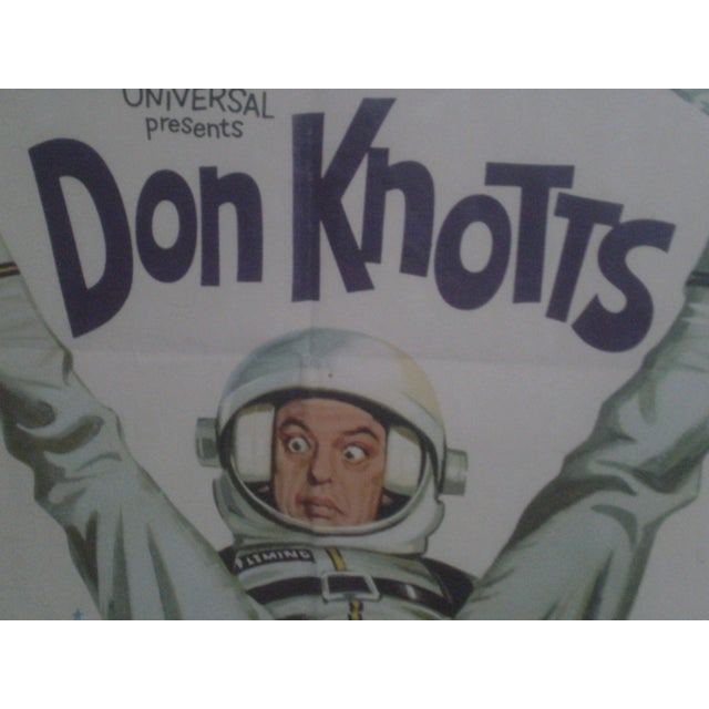 Movie Poster -Don Knotts The Reluctant Astronaut - Image 2 of 5